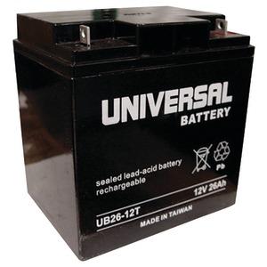 UPG 40596 UB122260T, SEALED LEAD ACID BATTERY CASE, 2 PK