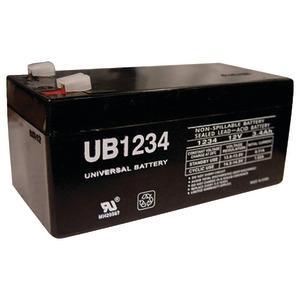 UPG D5740 UB1234, SEALED LEAD ACID BATTERY CASE, 10 PK