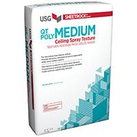 Sheetrock 542860028 Imperial Medium Ceiling Spray Texture, 32 lb, Bag, Gray to Off-White, Powder