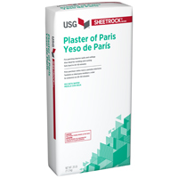 Sheetrock 380261 Fast Setting Plaster Of Paris, 25 lb, Bag, White to Off-White, Powder