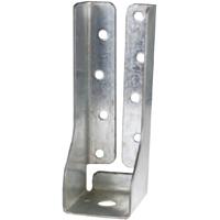 USP Lumber DTB Deck Tie Bracket, 6 in L X 1-3/16 in W, Steel, Triple Zinc Plated