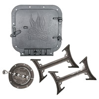 Standard Barrel Stove Kit