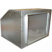 United States Stove UFB908 Universal Dust Filter Box, For Use With 1300 24 A and 30 A Furnace, Steel