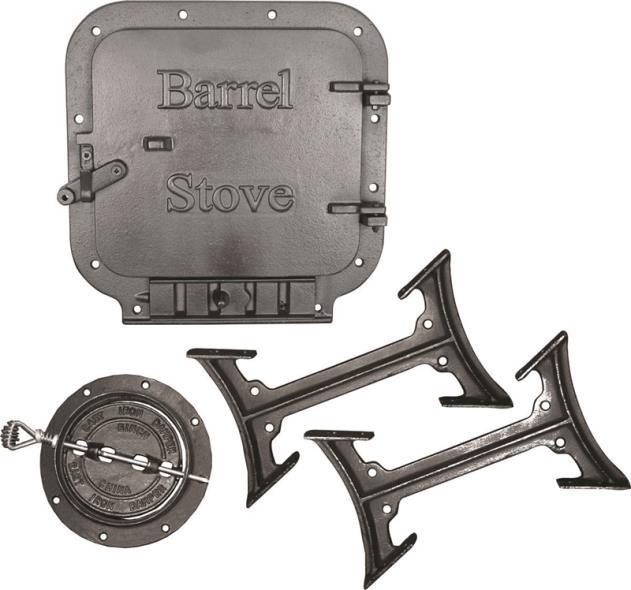 Standard Barrel Stove Kit