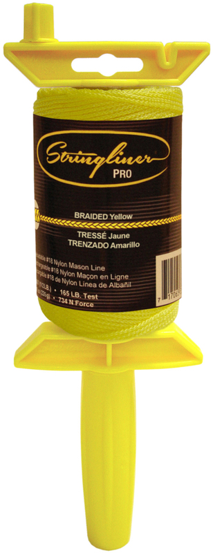 25450 500 FT. BR YELLOW PRO REEL