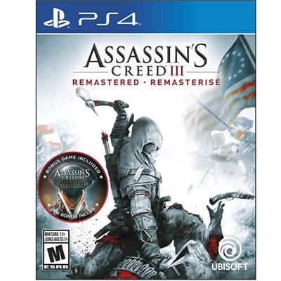 Assassins Creed III Remast PS4