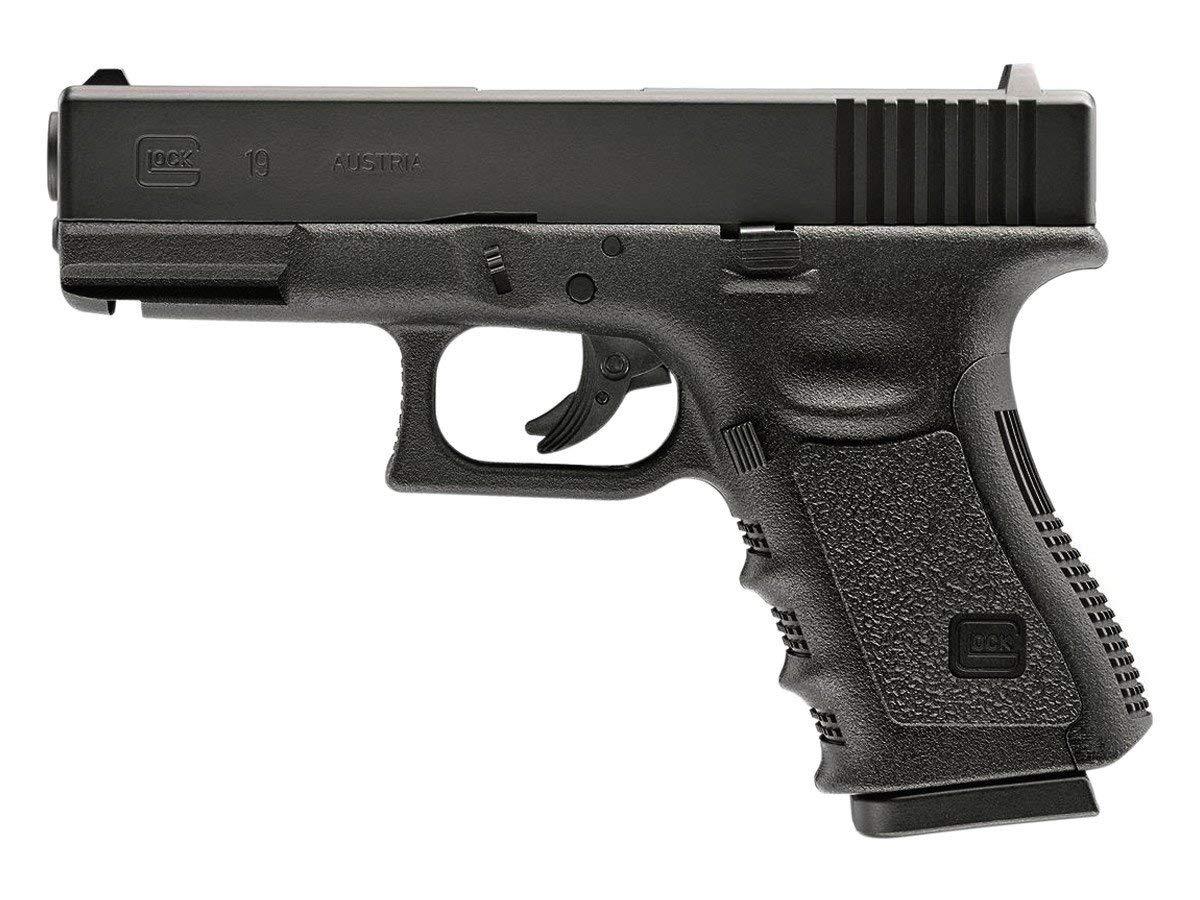 Glock G19 Gen 3 .177 Steel BB Pistol Black