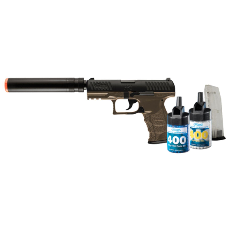 Umarex Walther PPQ Combat Kit Spring Powered Airsoft Kit