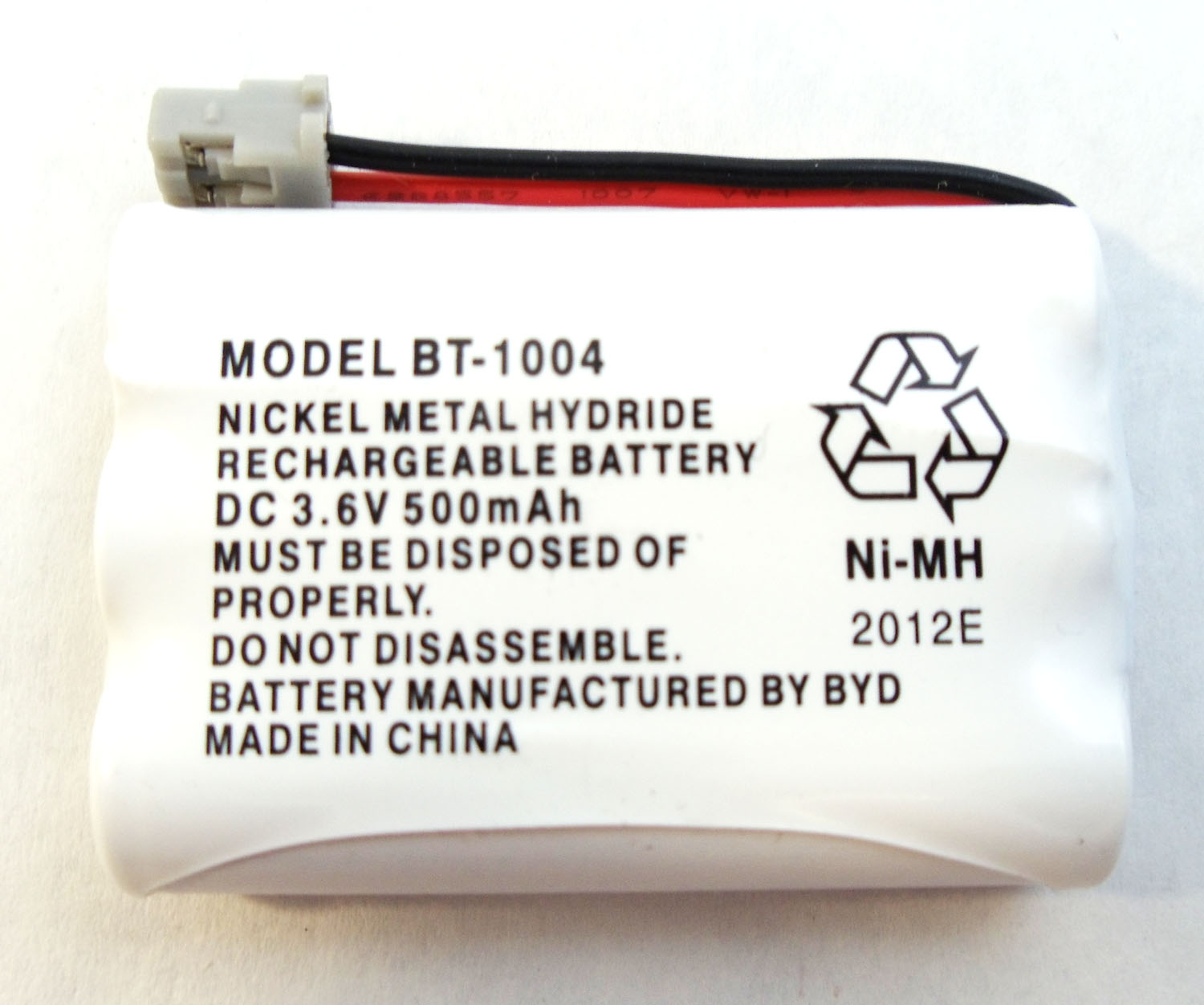 3.6 VOLT REPLACEMENT BATTERY FOR DXT736