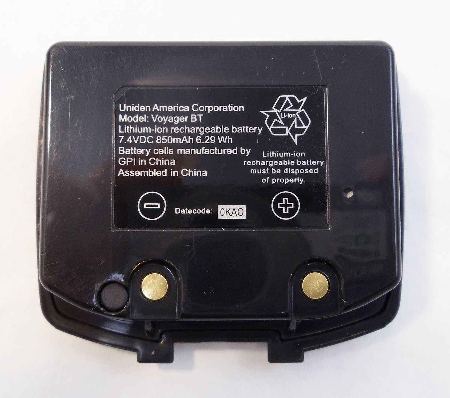 REPLACEMENT BATTERY FOR VOYAGER