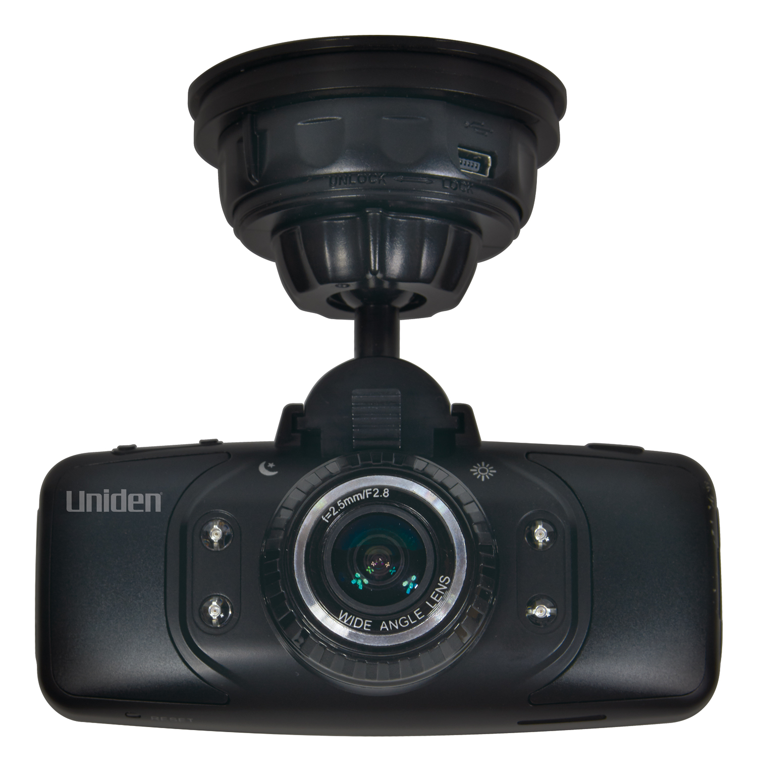 "UNIDEN CAM650 AUTOMOTIVE DASH CAM WITH 2.7"" LCD COLOR SCREEN, GPS & G-SENSOR WITH COLLISION"