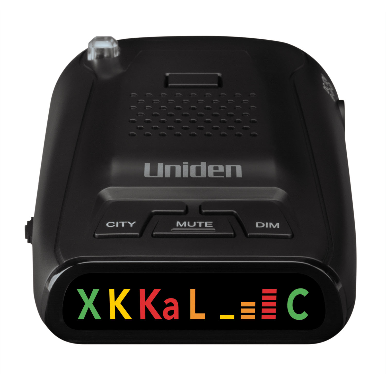 UNIDEN - LONG RANGE RADAR/LASER DETECTOR WITH 360-+ PROTECTION FROM ALL RADAR & LASER GUNS, HIGHWAY/CITY MODES, MUTE & BRIGHT/DI