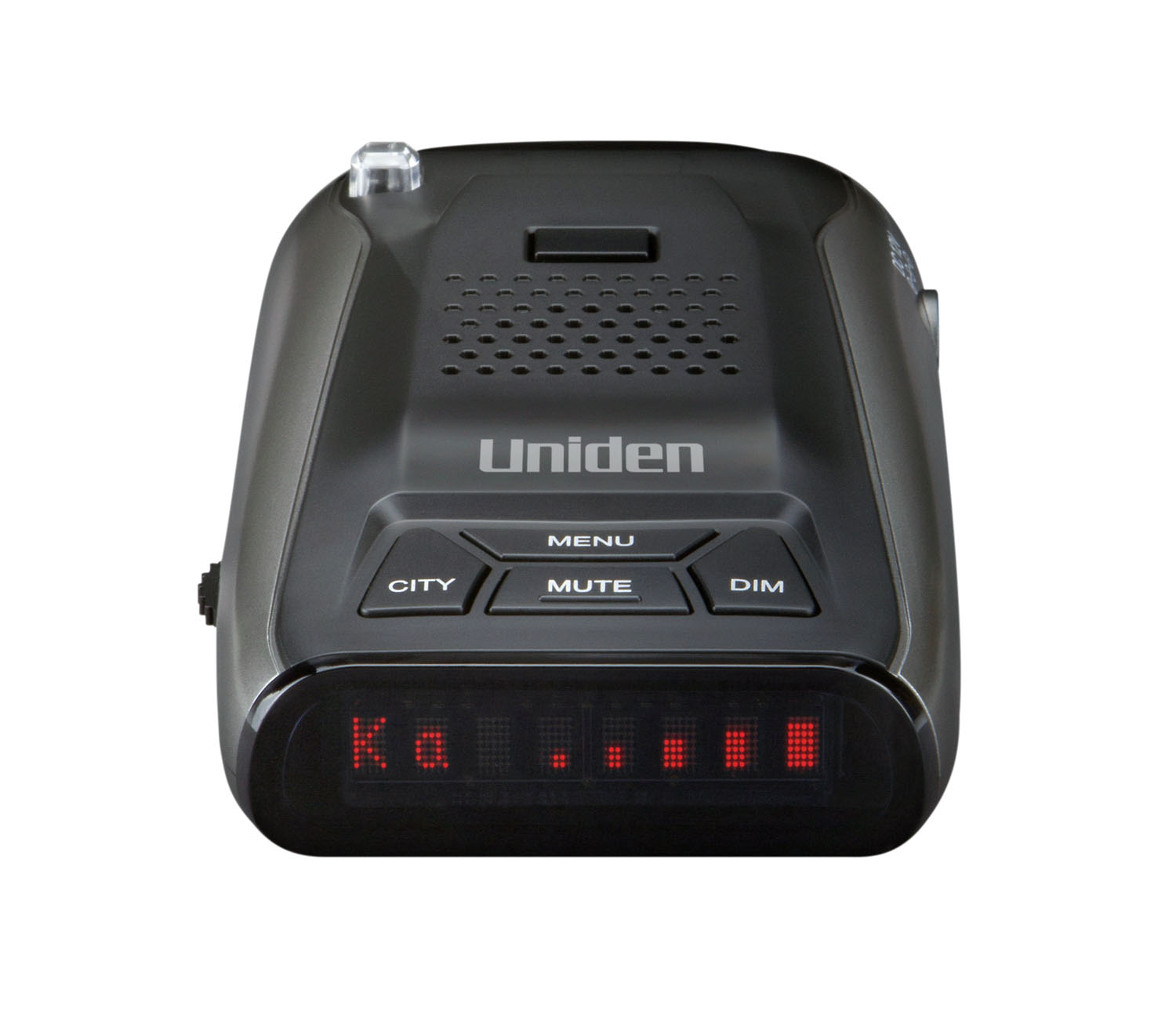 UNIDEN - LONG RANGE RADAR/LASER DETECTOR WITH 360-+ PROTECTION, VOICE ALERT, DOT MATRIX DISPLAY, HIGHWAY/CITY MODES, MUTE & BRIG