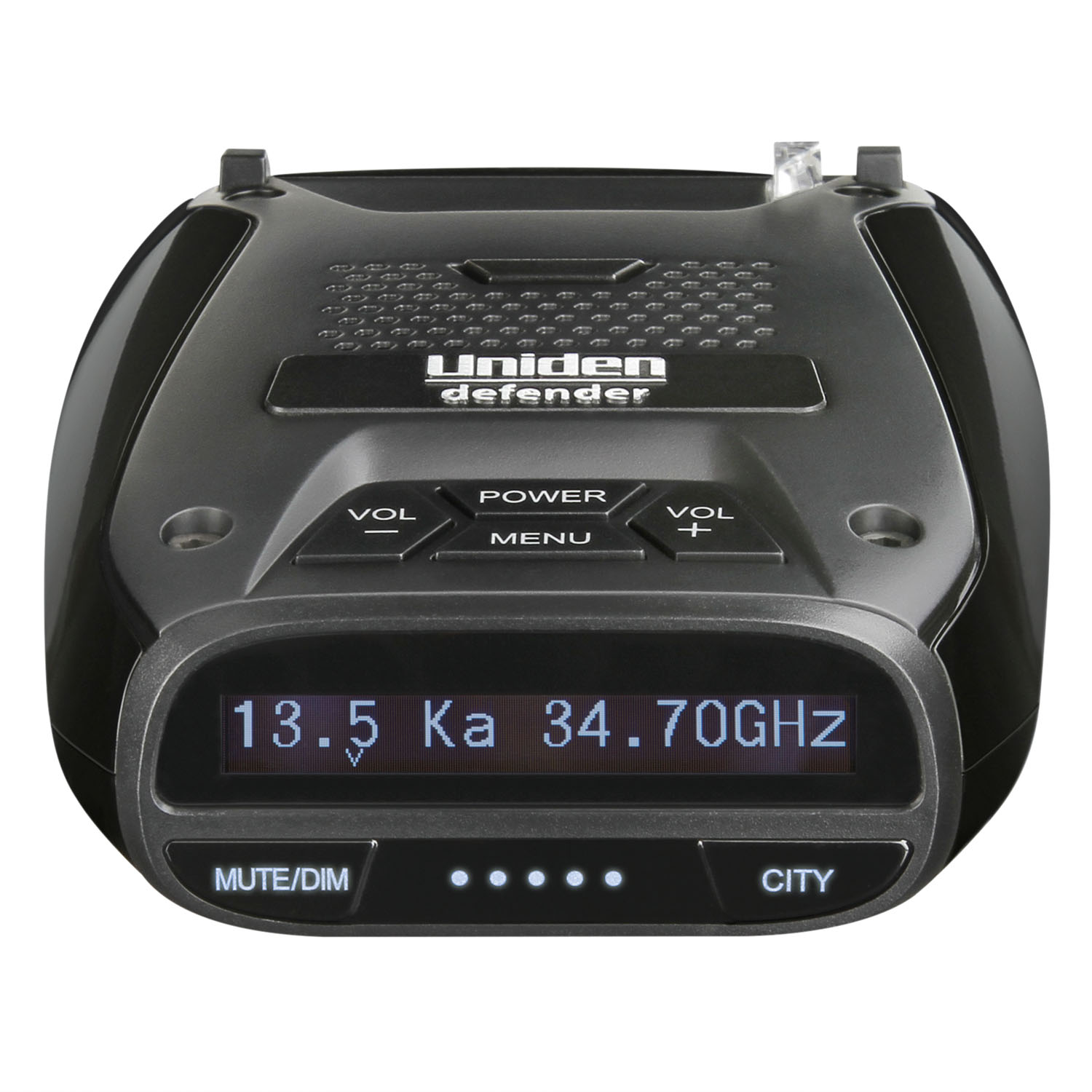 UNIDEN - EXTENDED RANGE RADAR/LASER DETECTOR WITH BUILT IN GPS FOR RED LIGHT CAMERAS, OLED DISPLAY, VOICE ALERT, SIGNAL STRENGTH