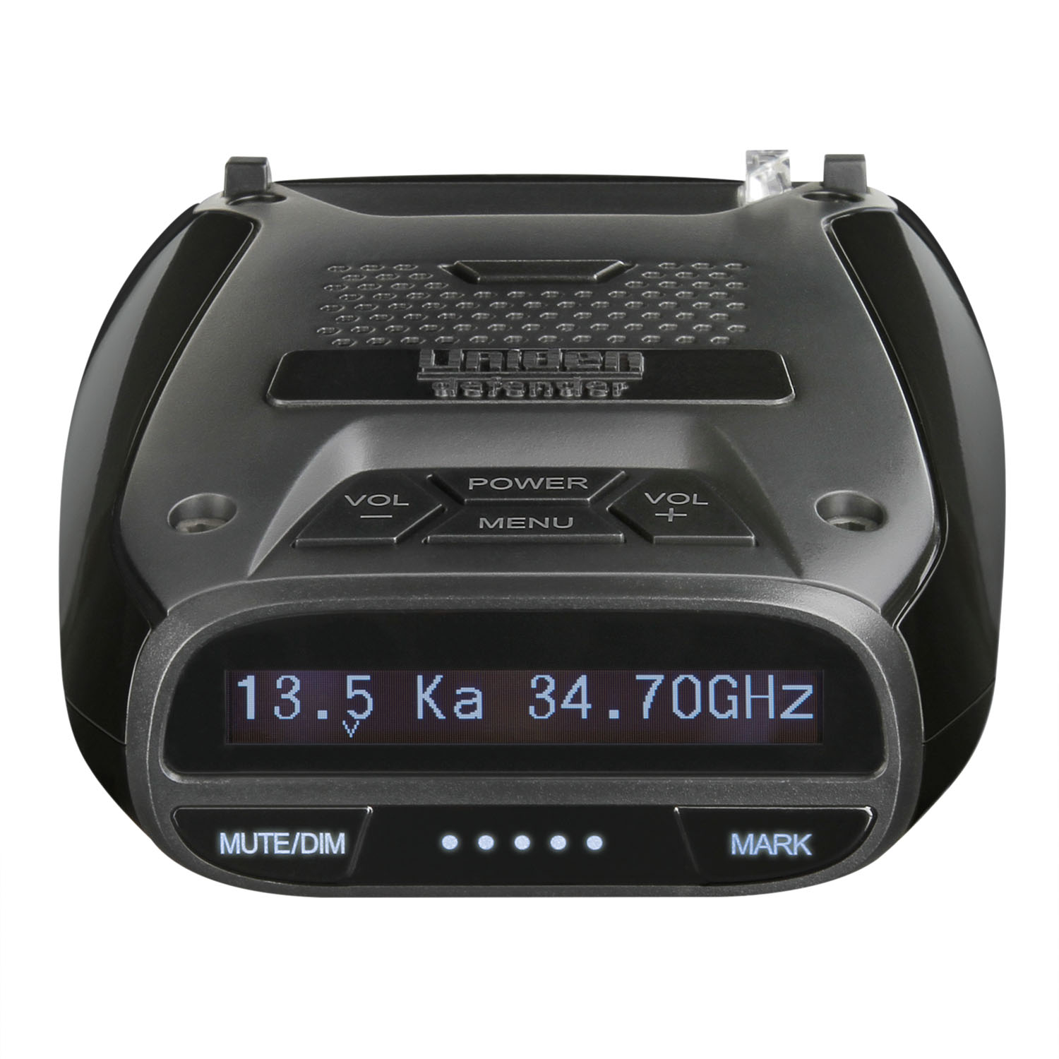 UNIDEN - DELUXE RADAR/LASER DETECTOR WITH BUILT IN GPS FOR RED LIGHT & SPEED CAMERAS, MAX SPEED WARNING, VOICE ALERT, SIGNAL STR