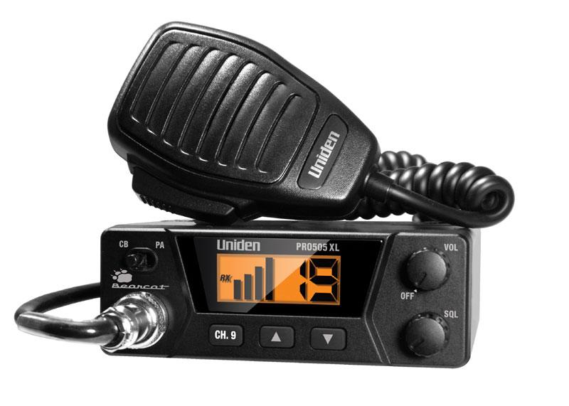 CB RADIO,PA CAPABILITY,INSTANT CH 9 KEY,SQUELCH