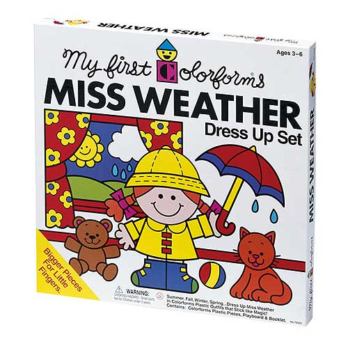 Miss Weather Dress Up Set