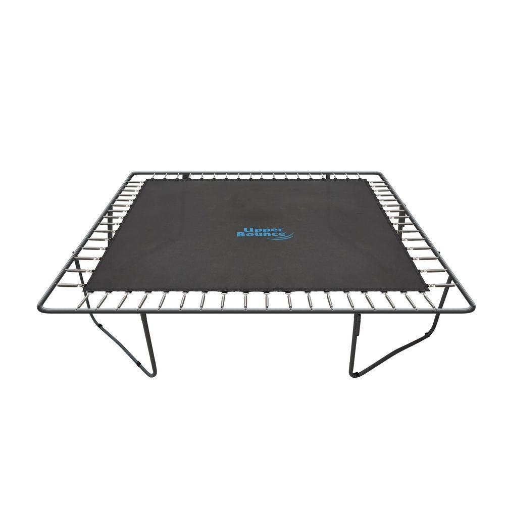 """Upper Bounce 13 FT Jumping Mat fits for 13' x 13' Square Trampoline Frames with 84 V-Rings Using 8.5"""" springs (springs not inclu"""