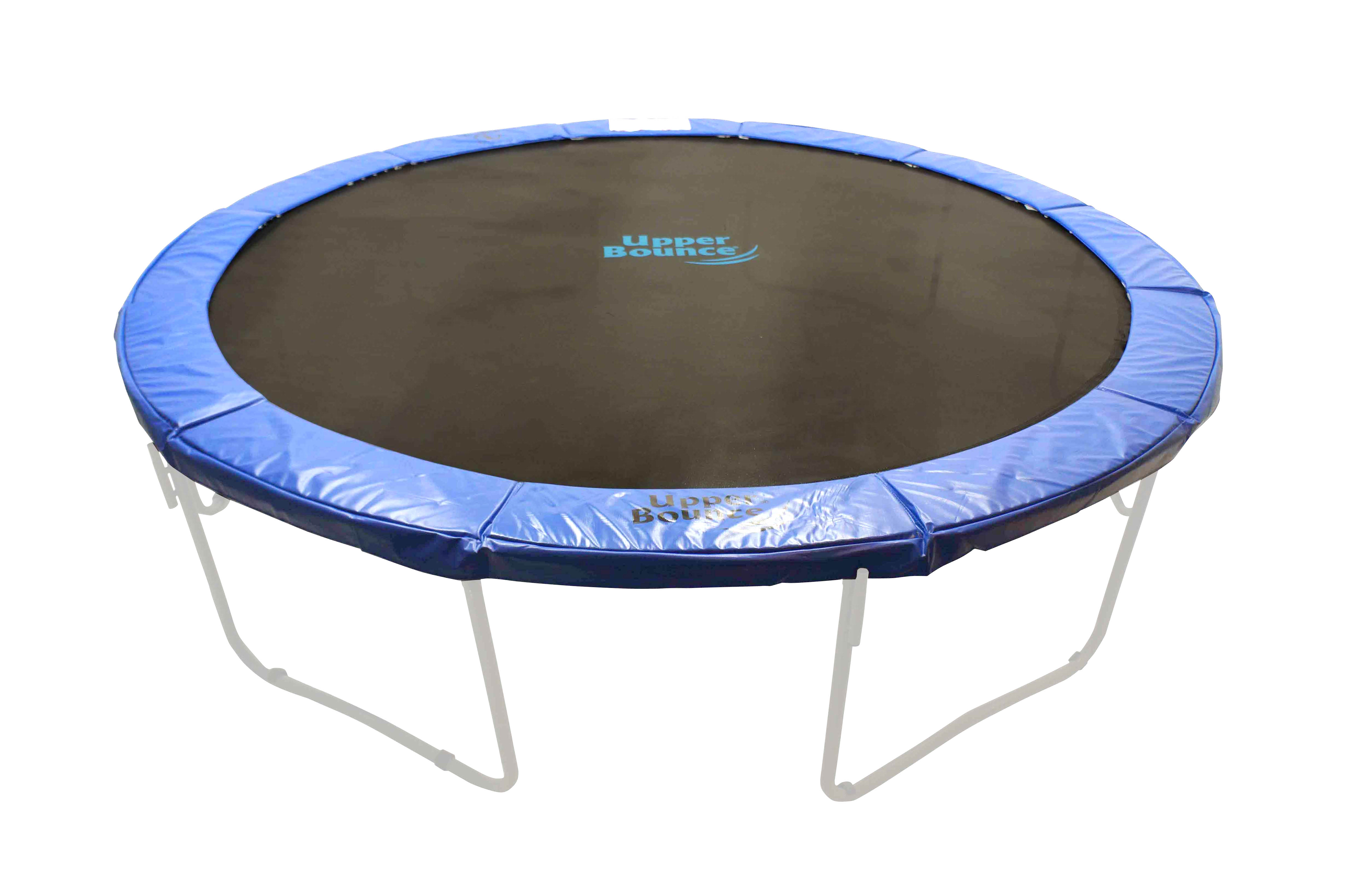 """48"""" Round Foldable Trampoline Safety Pad (Spring Cover) for 8 Legs - Blue"""