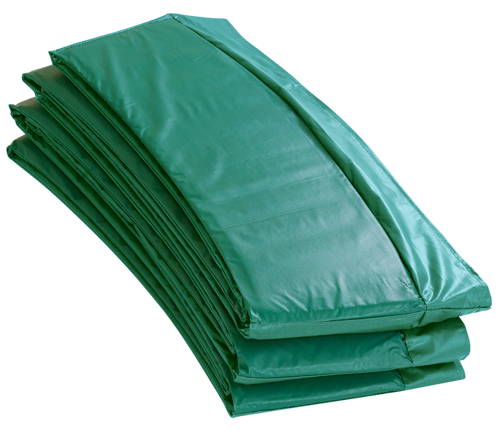 "12' Super Trampoline Safety Pad (Spring Cover) Fits for 12 FT. Round Trampoline Frames. 10"" wide - Green"