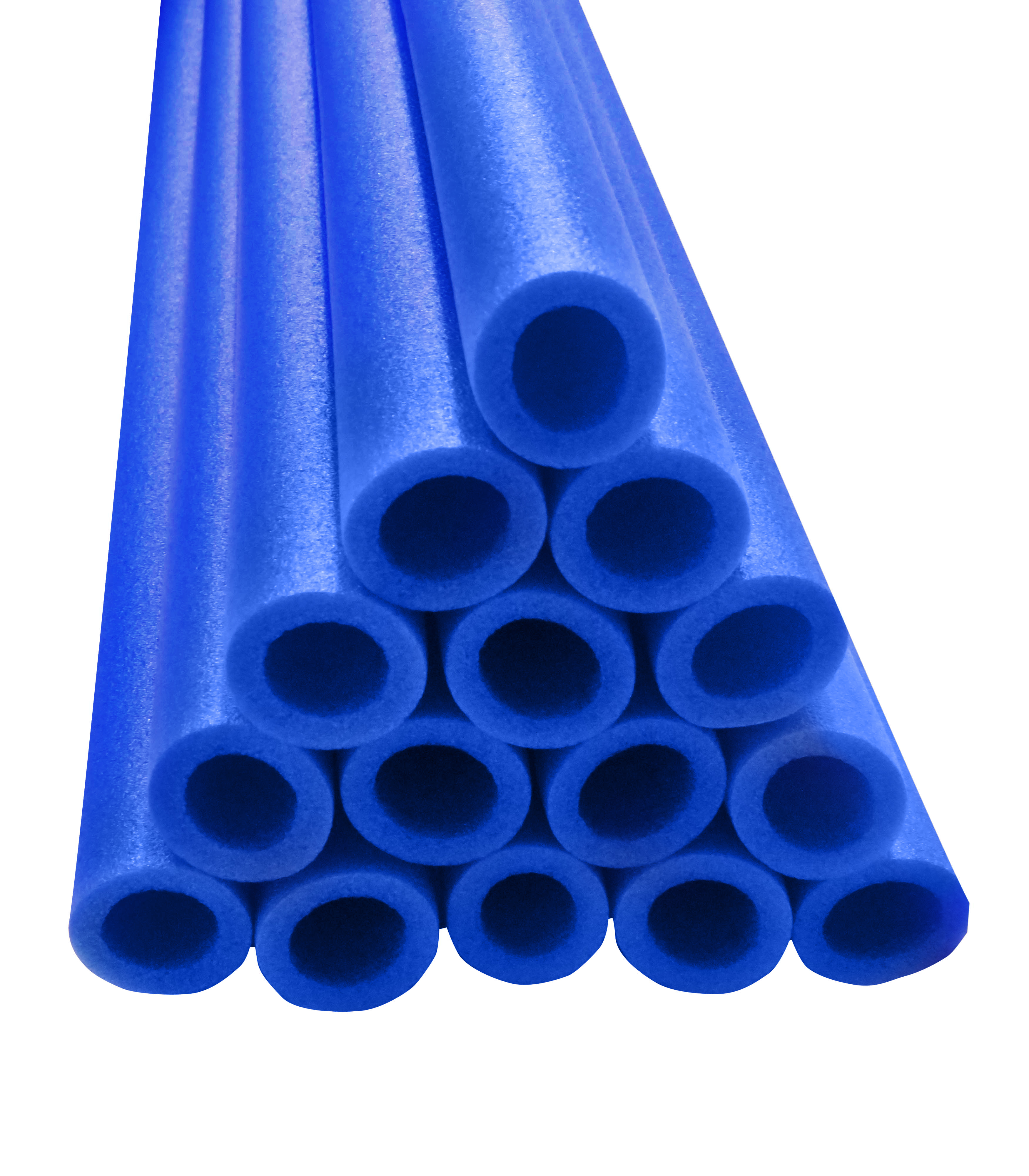 "37 Inch Trampoline Pole Foam sleeves, fits for 1"" Diameter Pole Set of 16 -Blue"