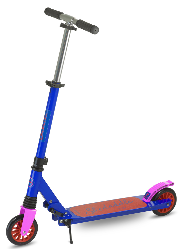 Scooride Skedaddle S-30 Premium Folding Kids Kick Scooter - Blue