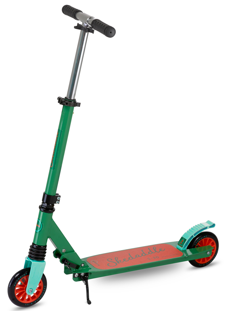 Scooride Skedaddle S-30 Premium Folding Kids Kick Scooter - Green