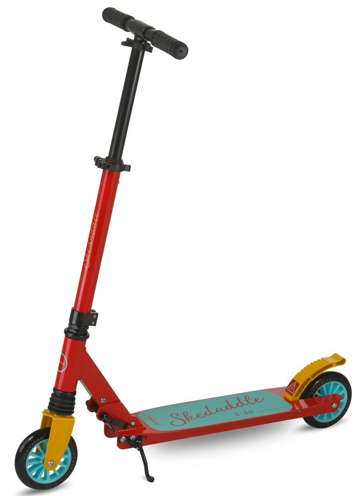 Scooride Skedaddle S-30 Premium Folding Kids Kick Scooter - Red