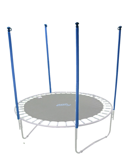 Trampoline Replacement Enclosure Poles & Hardware, Set of 4 (Net Sold Separately)