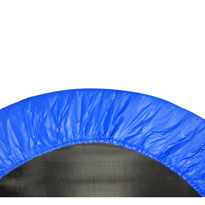 """40"""" Round Oxford Trampoline Safety Pad (Spring Cover) for 6 Legs- Blue"""