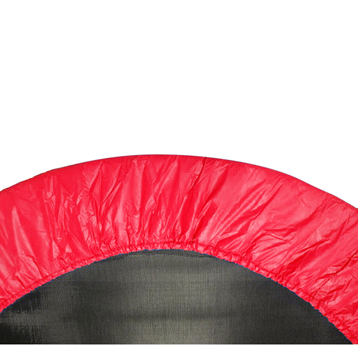 """38"""" Round Trampoline Safety Pad (Spring Cover) for 6 Legs - Red"""