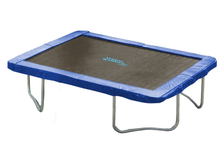 "13' Super Trampoline Safety Pad (Spring Cover) Fits for 13' x 13' Square Trampoline Frames - 12"" wide - Blue"