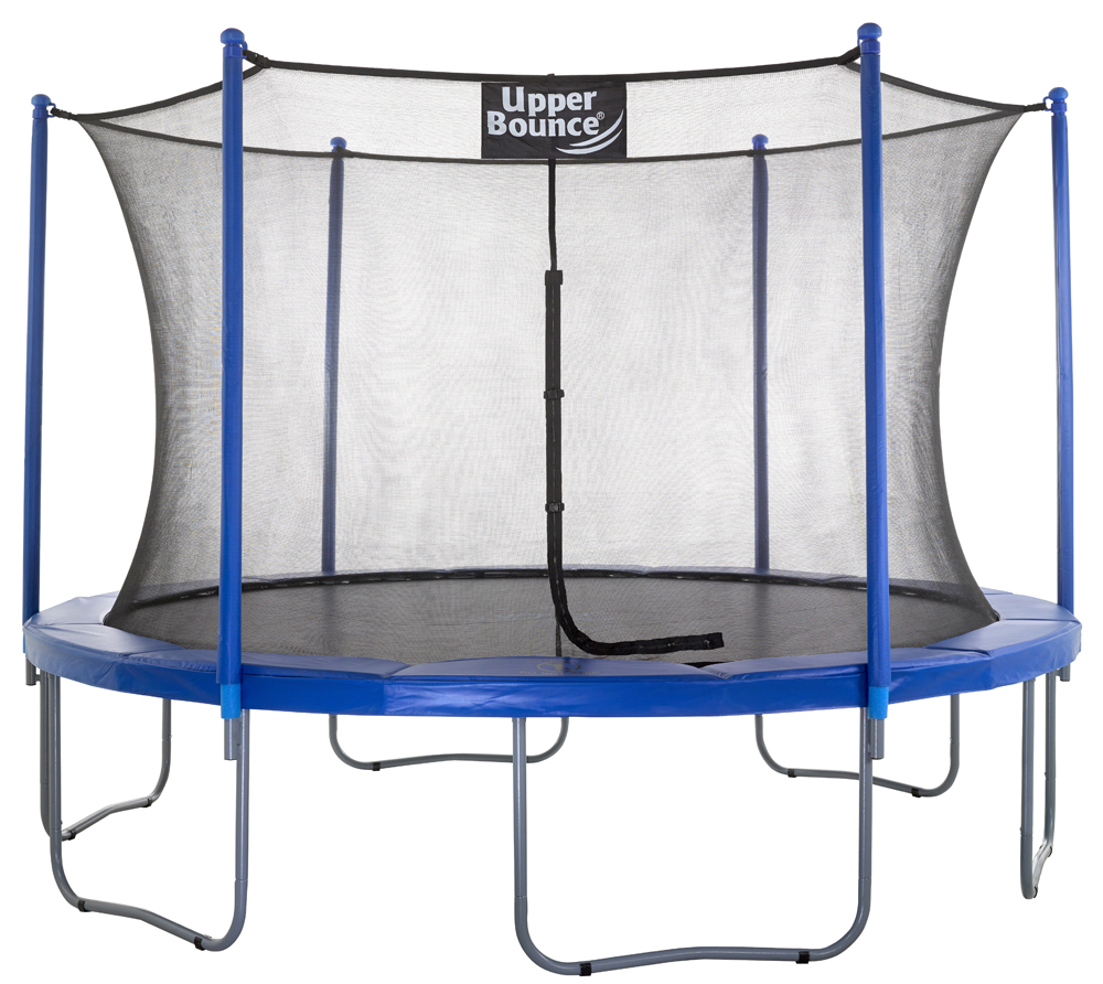 "12 Ft. Trampoline & Enclosure Set Equipped With The New ""Easy Assemble Feature"""
