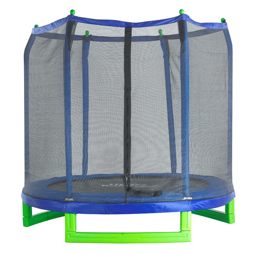"Upper Bounce® 7' Indoor/Outdoor ""Classic"" Trampoline and Enclosure Set"