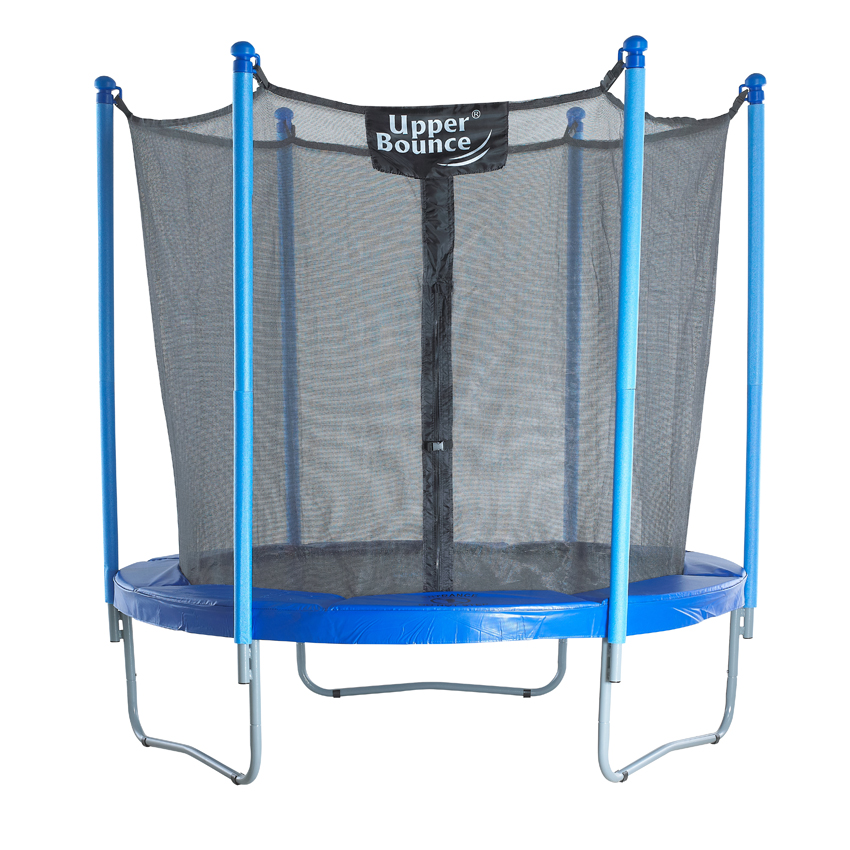 """7.5 FT. Trampoline & Enclosure Set equipped with the New """"EASY ASSEMBLE FEATURE"""""""