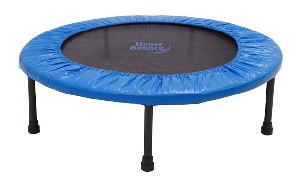 """36"""" Two-Way Foldable Rebounder Trampoline with Carry-on Bag Included"""