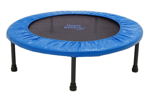 """40"""" Two-Way Foldable Rebounder Trampoline with Carry-on Bag Included"""