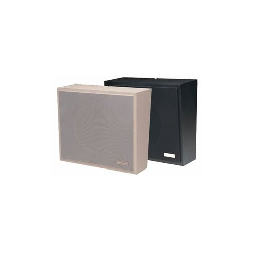 1Watt 1Way Wall Speaker - Black