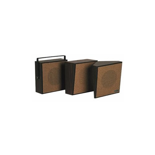 1Watt 1Way Wall Speaker - Brown