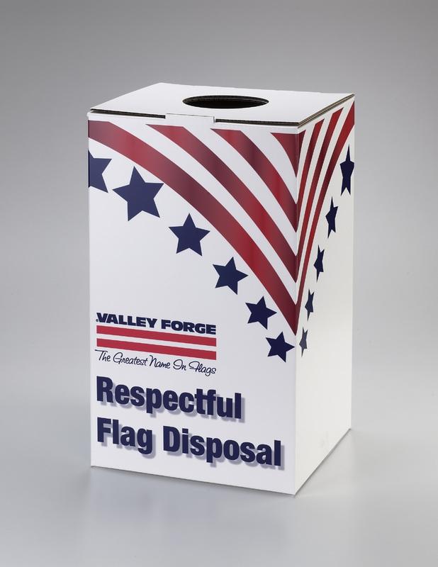 BOXREC FLAG DISPOSAL BOX