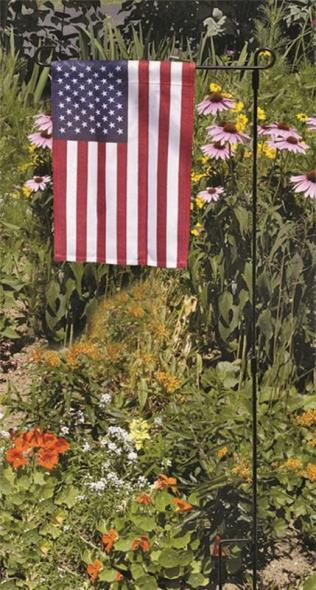 Valley Forge USGF-C USA Garden Flag, 12 in W x 18 in L, High-Quality Cotton Fiber