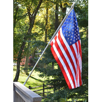 Valley Forge AA99030 Flag and Pole Kit, 3 ft W x 5 ft L