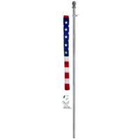 Valley Forge 99090 Flag Kit, 2-1/2 ft W x 4 ft L, Nylon