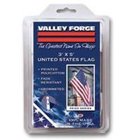Valley Forge USS-1 USA Flag, 3 ft W x 5 ft L, Polycotton