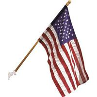 Valley Forge 99050 Flag Pole Kit, 1 Pieces, 50 in L X 29 in W