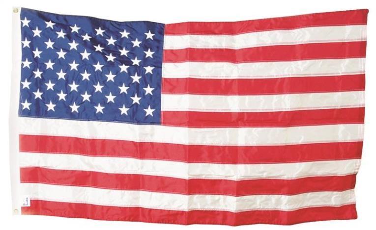 Valley Forge USPN-1 USA Flag, 3 ft W x 5 ft L, Nylon
