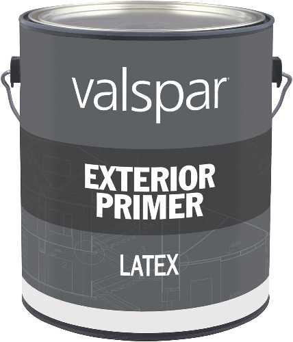 Exterior Latex Flat Primer, Gallon