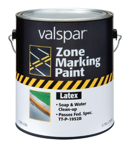 1 GALLON WHITE LATEX TRAFFIC MARKING PAINT