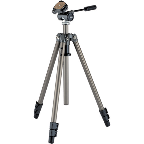 VELBON 200R 3 SECOND , FIELD TRIPOD, FLIP LEG LOCKS, SLIDE