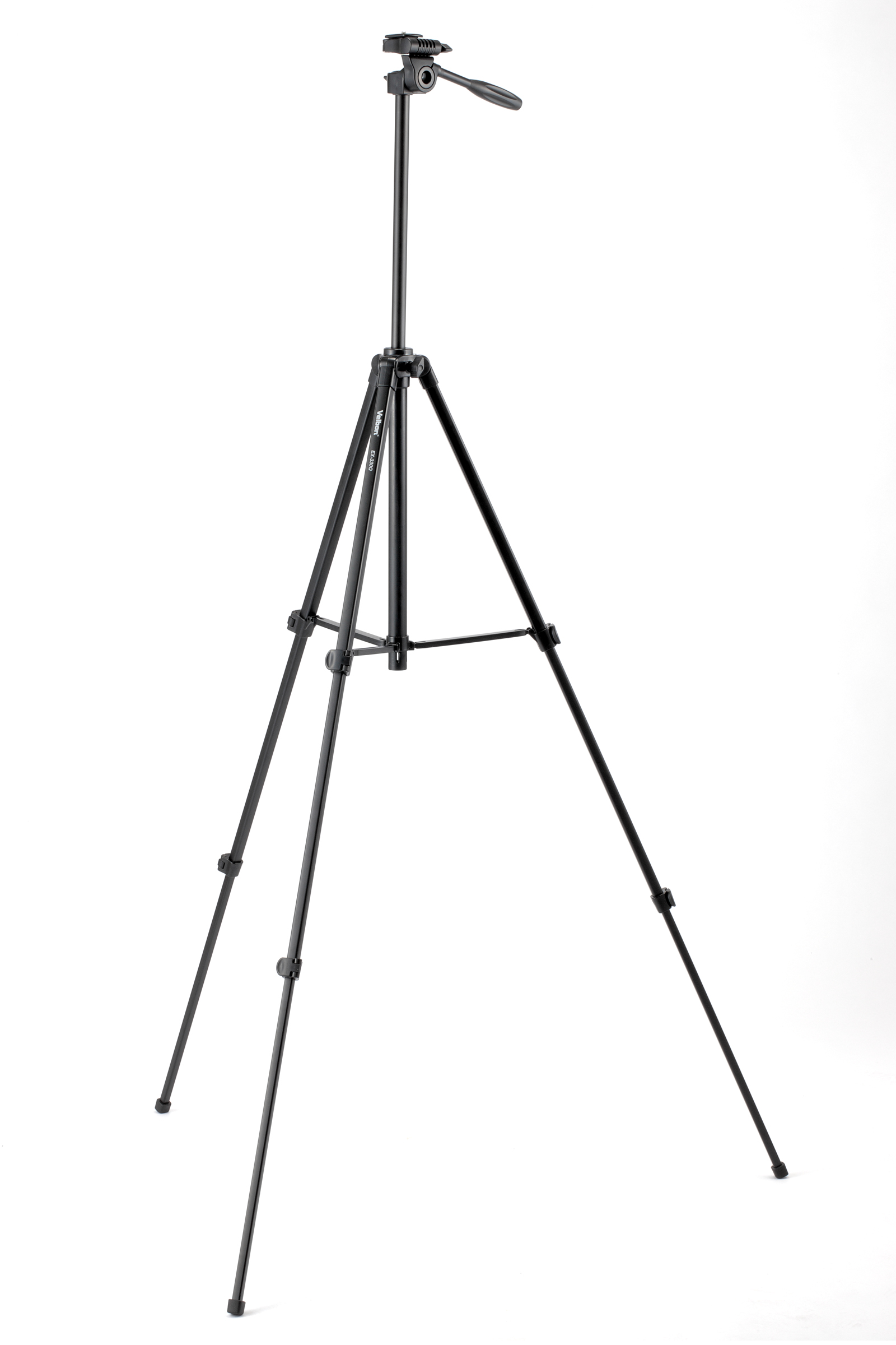 VELBON EX-330Q 3 SECOND LIGHTWEIGHT TRIPOD, FLIP LEG LOCKS, R
